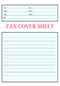 Urgent Fax Cover Sheet Template