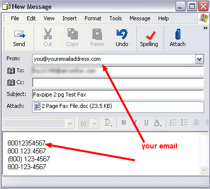 How to Send fax From Outlook