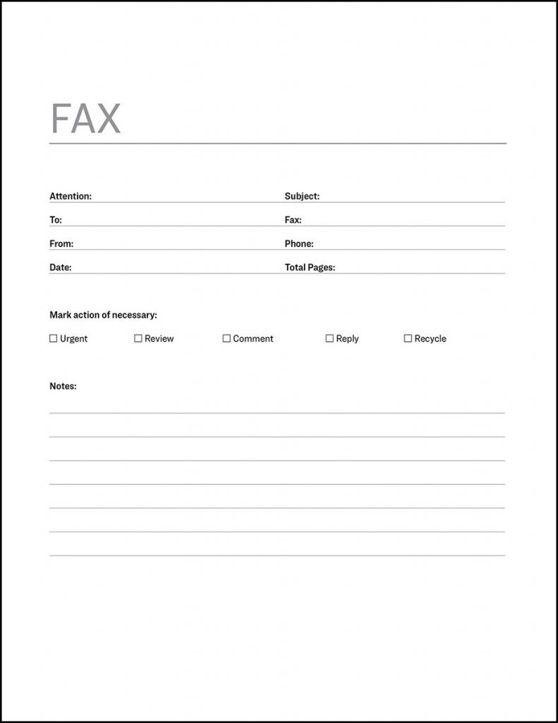 Free Hipaa Fax Cover Letter PDF